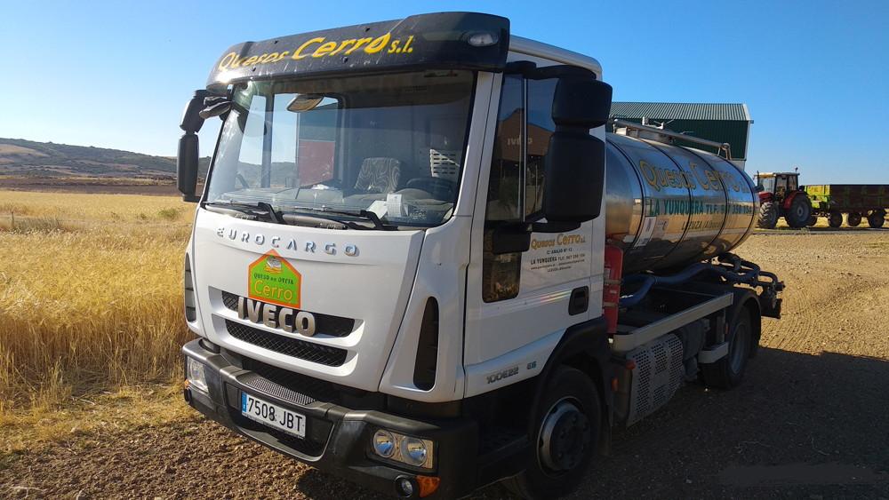 camion leche