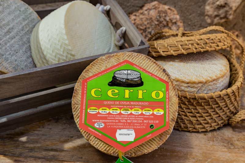 etiquetado queso